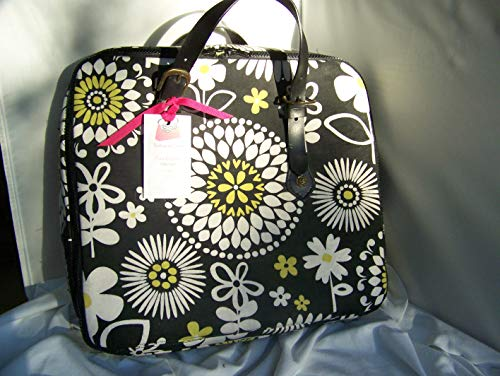 One of a KindBlack White Yellow Amethyst Project BagCaseToteMADE IN USA