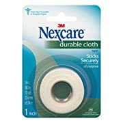 Nexcare Durable Cloth Tape, Sticks Securely, Secure Splints, With Strong Holding Power, 2-Inches x 10-Yards