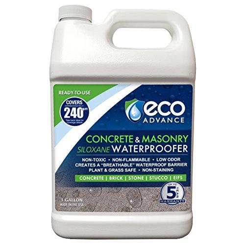 - Eco Advance EACON128PD 1 Gallon Concrete/Masonry Siloxane Waterproofer - Ready to Use,