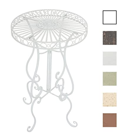 Tavolo Da Giardino Tondo Ferro.Clp Tavolino Da Giardino Shiva In Ferro Tavolo Rotondo Fatto A