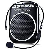 WinBridge WB001 Rechargeable Ultralight Portable Voice Amplifier Waist Support MP3 Format Audio for Tour Guides…