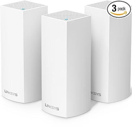 amazon com linksys velop ac2200 tri band whole home wifi