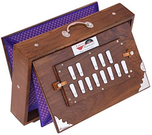 Shruti Box Teak Wood Size (15
