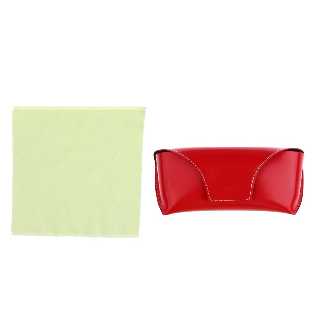 Fityle Leather Protector Holder Box Case Cover Pouch For Eyeglasses Sunglasses