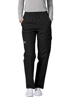 3e0e932c276 Amazon.com: Adar Universal Curved Pocket Glamour Scrub Top: Clothing
