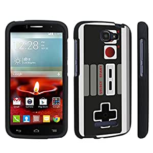 DuroCase ? Alcatel OneTouch Fierce 2 7040T (2014 Released) Hard Case Black - (Game Controller)