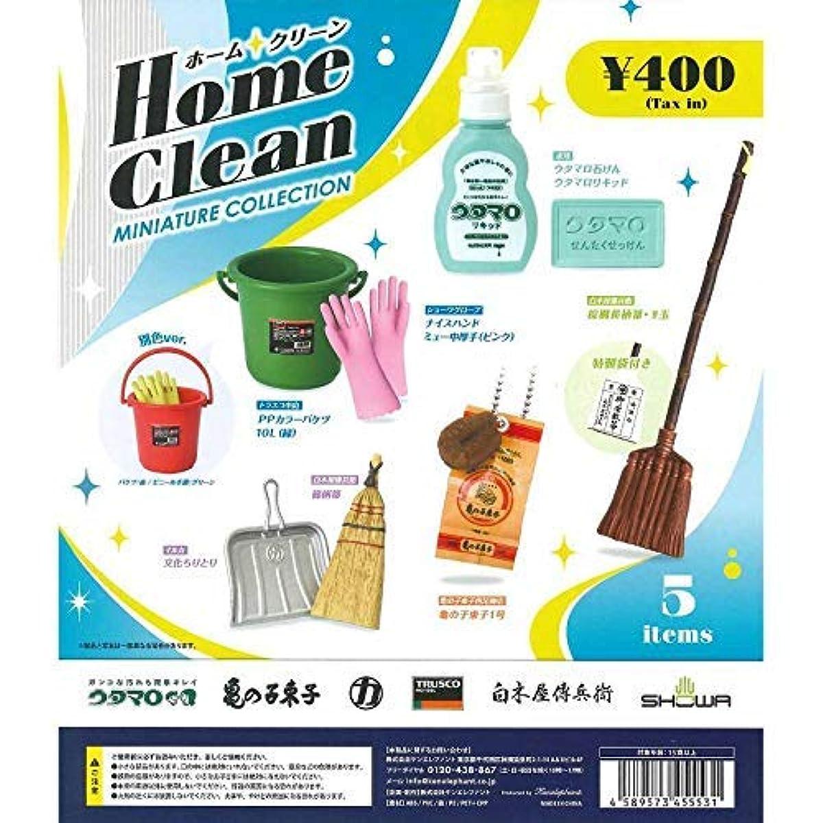 [해외] 홈 클린 미니어쳐 청소용품 6종 세트