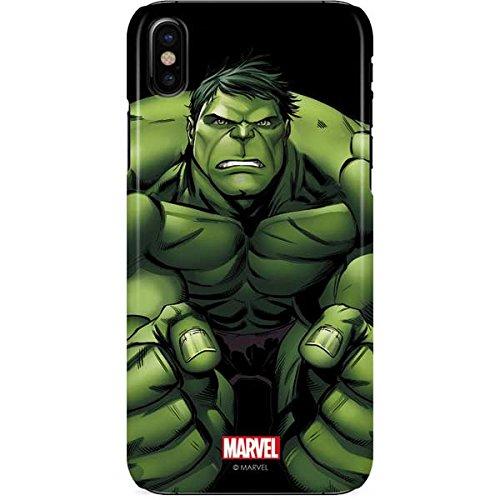 new product 25976 e232d Amazon.com: Hulk iPhone X Case - Hulk is Angry   Marvel X Skinit ...