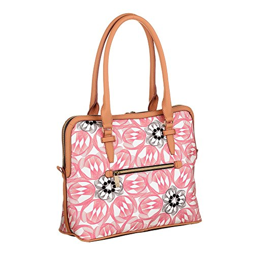 Oilily Flower Swirl M Carry All Rosa Flamingo