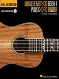 img - for Hal Leonard Ukulele Method & Chord Book (Book/online audio) book / textbook / text book