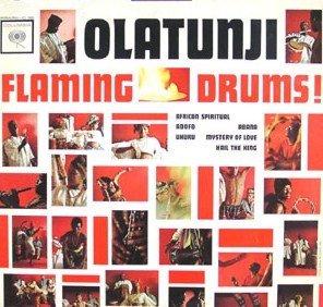 Olatunji Flaming Drums - Drums Flaming