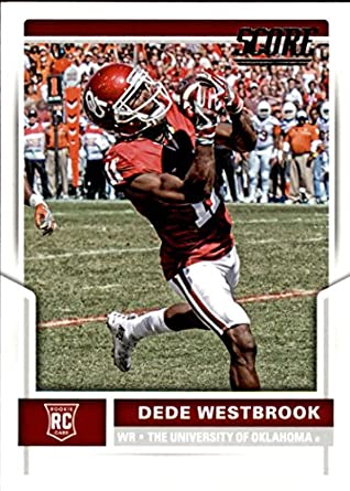 13ff75f15 Amazon.com  2017 Score  346 Dede Westbrook Oklahoma Sooners Rookie ...