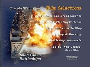 Iowa Class Battleships BB-62 BB-63 New Jersey Missouri Navy old Films WW2 Korea Vietnam DVD