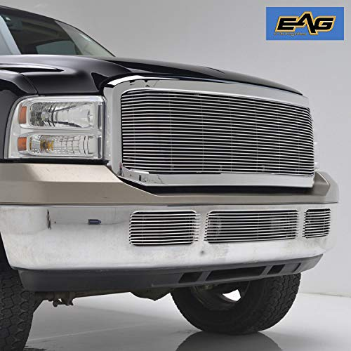 EAG Chrome Billet Grille+Shell for 05-07 Ford Super Duty F250/F350