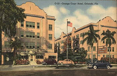 Orange Court Hotel Orlando, Florida Original Vintage Postcard