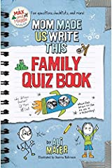 Mom Made Us Write This Family Quiz Book Perfect Paperback