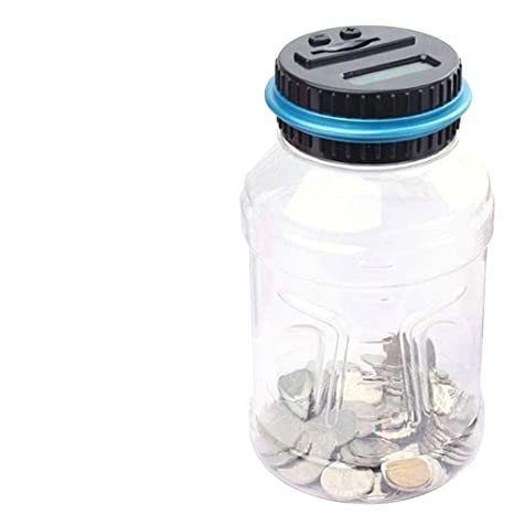 NUOLUX Elektronische Spardose für Münze mit Zählwerk