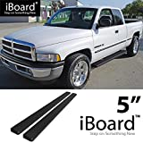 "Best Fits For Club Bars - eBoard Running Boards Black 5"" Fit 1994-2001 Dodge Review"