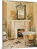 Cheap Marilyn Hageman Premium Thick-Wrap Canvas Wall Art Print entitled French Bath I 16″x20″
