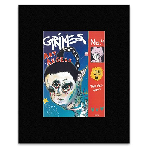 Grimes - Art Angels Framed Print - 40.5x30.5cm - Grime Music