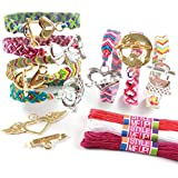 Style Me Up - Creative Friendship Bracelet Making Kit for Girls, Craft Kit for for Jewelry Making - SMU-603
