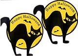 Halloween Black Cat Car Magnets