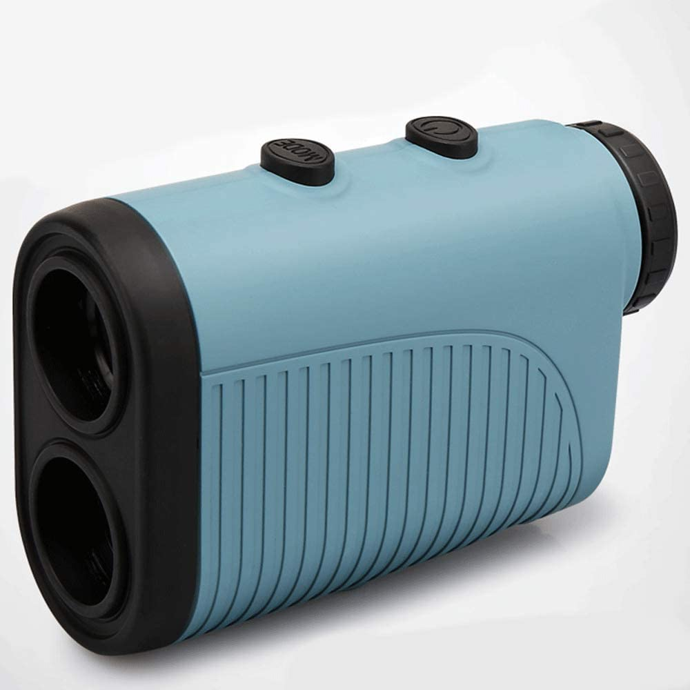 Golf Rangefinder 400-600 Yardas Range Finder con Compensación De Pendiente, 6 Aumentos, Vibración, Medición De Distancia/Velocidad/ángulo para Golf, Tiro con Arco, Caza