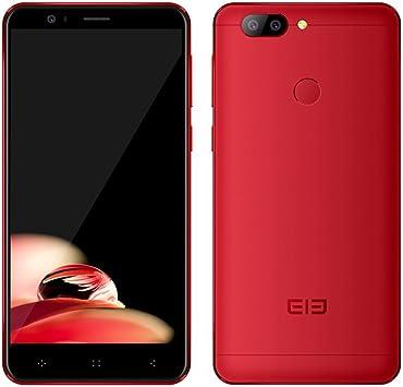 Elephone P8 Mini 4G Smartphone 5.0 Pulgadas Android 7.0 MTK6750T Octa Core 1.5GHz 4GB RAM 64GB ROM 13.0MP + 2.0MP Cámaras Traseras Escáner de Huellas Dactilares Móviles (Rojo): Amazon.es: Electrónica