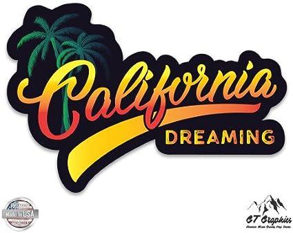 GT Graphics California Sunset Vinyl Sticker Waterproof Decal