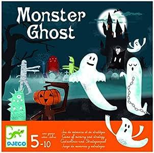 DJECO- Juegos de acción y reflejosJuegos educativosDJECOJuego Monster Ghost, (15): Amazon.es: Juguetes y juegos