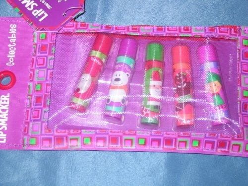 Lip Smacker Collectables - Seasons Favorites (5 Lip Glosses) with Tote