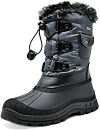 Boys & Girls KSNOW Insulated Waterproof Snow Boots