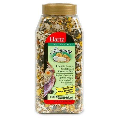Hartz 91106 23 Oz Nutrition Bonanza Gourmet Cockatiel Diet
