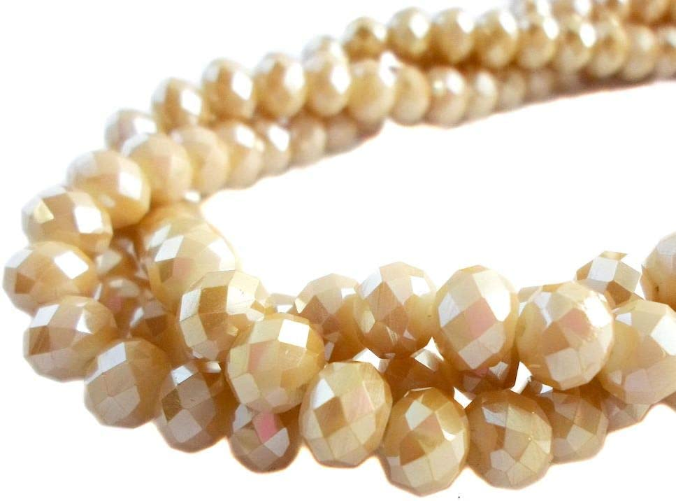 Certified Champagne Faceted Diamond Loose Bead for Jewelry Making 11x7MM,Diamond Rondelles 4.50 Ct