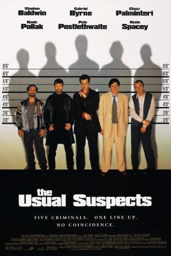 Usual Suspects The Movie Poster Art 24in x36in