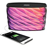iHome iBT84 Portable Splashproof Color Changing 10 Hour Rechargeable Bluetooth Stereo Speaker with Speakerphone and Built-In Power Bank (Certified Refurbished)