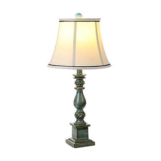 AAPDZ Lámpara de mesa Lámpara de mesa Vintage Estilo rústico Retro ...