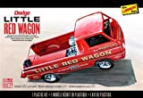 adult red wagon - 1/25 Dodge