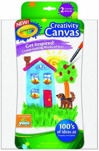 Crayola Paint Canvas Sets, White