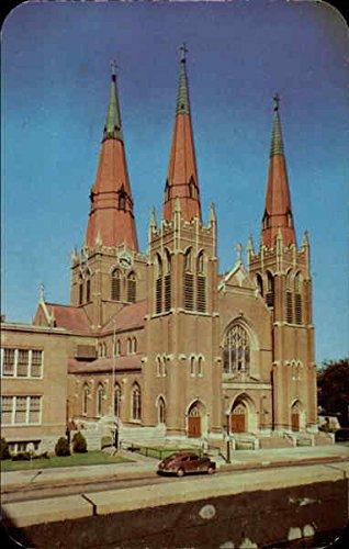 Holy Family Cathedral Tulsa, Oklahoma Original Vintage Postcard