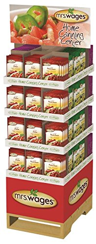 PRECISION FOODS Mrs. Wages Home Canning Center Display, 336 Count