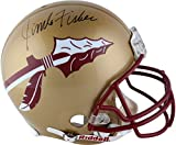 This Riddell Proline helmet has been personally hand-signed by coach Jimbo Fisher. It is officially licensed by the NCAA and comes with an individually numbered, tamper-evident hologram from Fanatics Authentic. To ensure authenticity, the hol...