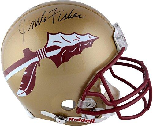 Jimbo Fisher Florida State Seminoles (FSU) Autographed Riddell Pro Helmet - Fanatics Authentic Certified