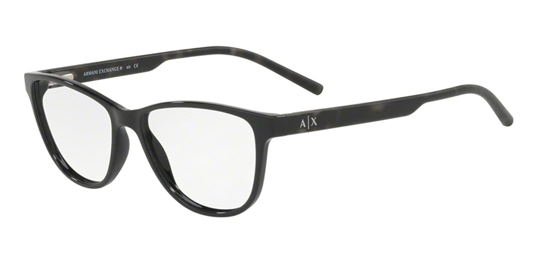 11ebe29644 Amazon.com  Eyeglasses Exchange Armani AX 3047 8158 BLACK  Clothing