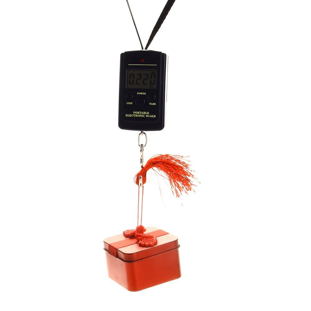 LCD BALANCE PESON ELECTRONIQUE DYNAMOMETRE 40KG X 20G