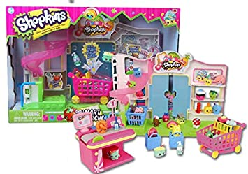 Buy Shopkins Supermarket Playset Multi Color Online At Low Prices In India Amazon In