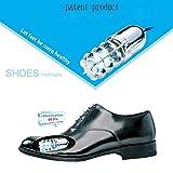 STONG- UV Light 15 Minute Ultraviolet(UV) Shoe Sanitizer/Deodorizer,Germicidal Light Technology Keep healthy life (Silver)