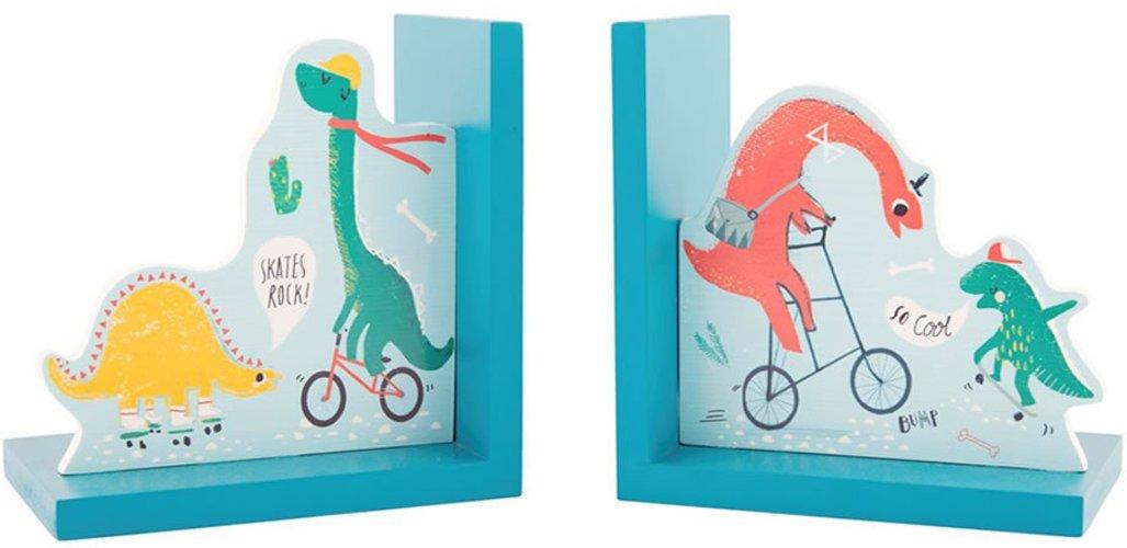 Sasse Belle Serre-livres–Dino Skate Park Sass and Belle