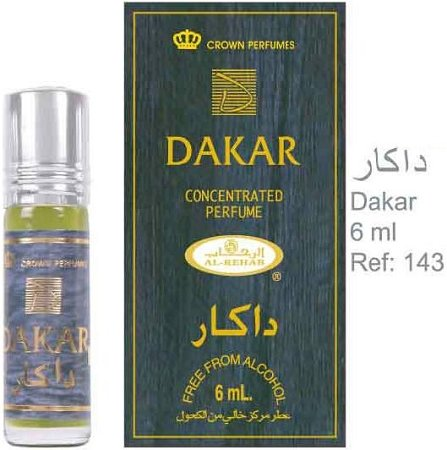 Dakar - 6ml (.2 oz) Perfume Oil by AlRehab