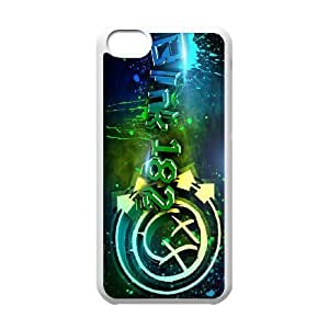Custom High Quality WUCHAOGUI Phone case Blink 182 Pattern Protective Case For iphone 4/4s iphone 4/4s - Case-7
